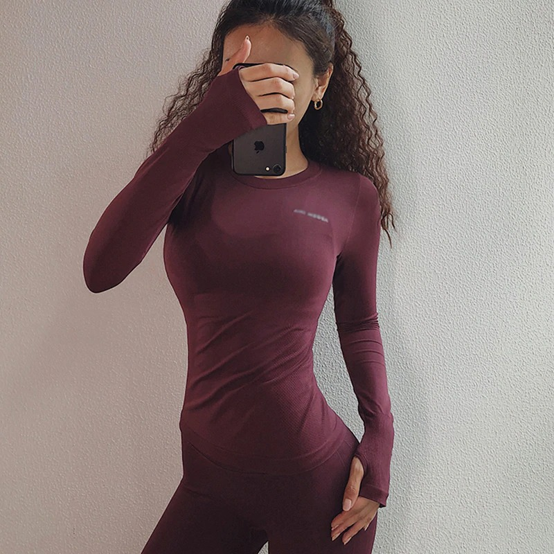Breathable Gym Yoga Running Top