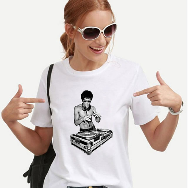 Bruce Lee DJ T shirt